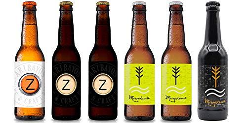 SELECCIÓN cerveza ARIBAYOS - Caja 6 botellas de 33cl.