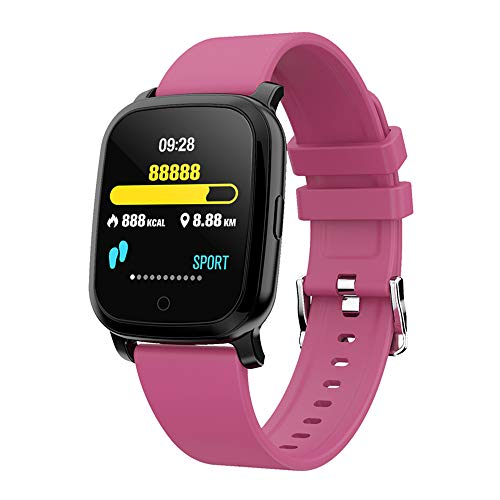 SWT20 Smartwatch, Fitness-Tracker, Blood Pressure Armband GPS Infrarot Thermometer, violett