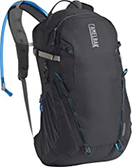 Crux delivers 20% more water per sip, with an ergonomic handle for easy refilling and an on/off lever to prevent leaks. Breathable air mesh back panel for a lightweight, comfortable fit Load bearing hip belt with cargo has open mesh to maximize breat...
