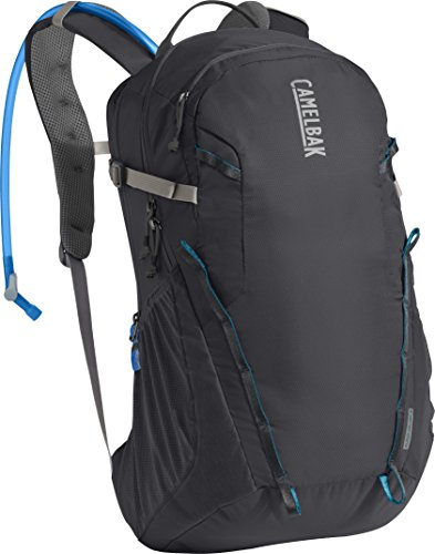 CamelBak Cloud Walker 18 Crux Reservoir Hydration Pack, Charcoal/Grecian Blue, 2.5 L/85 oz