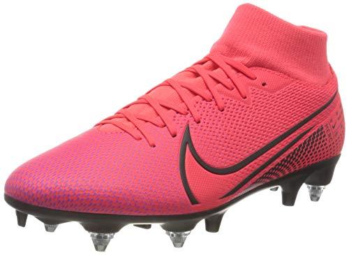 Nike Superfly 7 Academy SG-PRO AC, Scarpe da Calcio Uomo, Rosso Laser Crimson Black Laser Crim 606, 45 EU