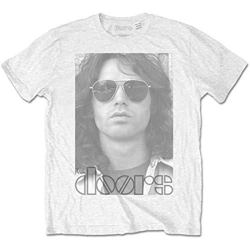 T-Shirt # S White Unisex # Aviators
