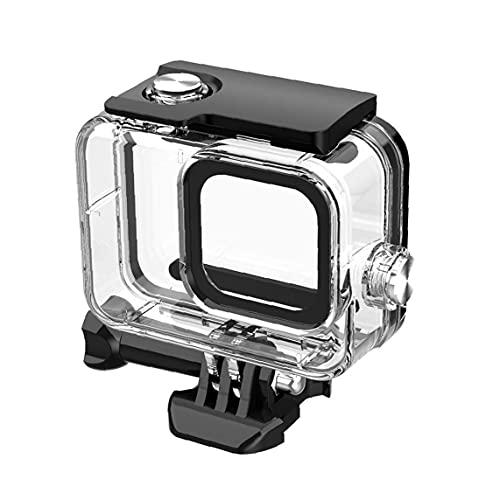 waterdichte behuizing case camera beschermende onderwater duik multi use case compatibel met GoPro8 actie camera accessoires zwart