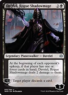 Magic: The Gathering - Davriel, Rogue Shadowmage - War of The Spark
