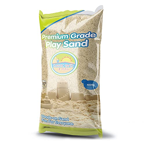 Classic Sand and Play Sand for Sandbox, Table, Therapy, and...