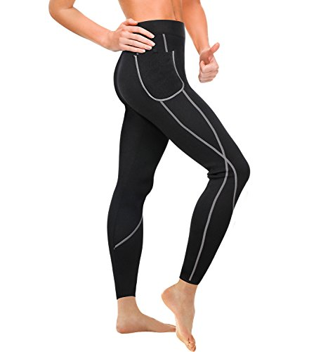Wonderience Women Sauna Weight Loss Slimming Neoprene Pants