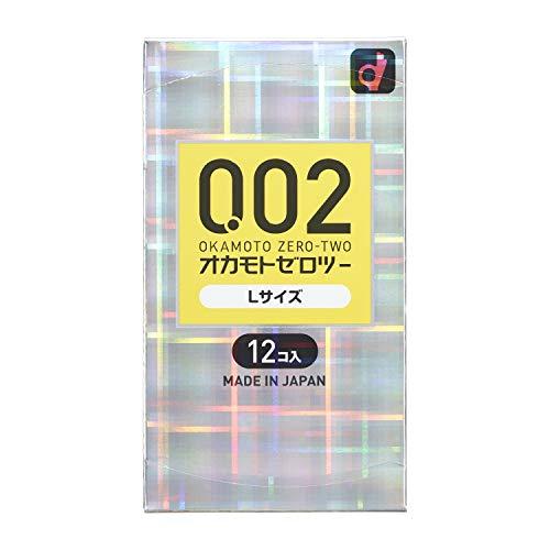 Okamoto 0.02 EX Polyurethane Condom 12pc | Large Size (Japan Import)