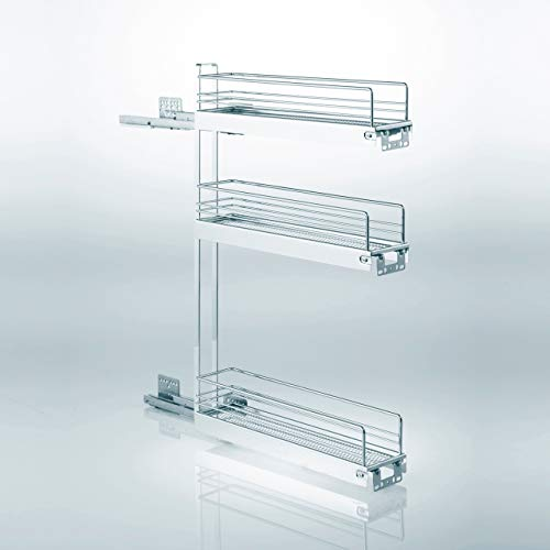 Sotech SO-TECH® 15er Unterschrankauszug Classic 90° 3-etagig rechts Küchenauszug Schrankauszug Vollauszug