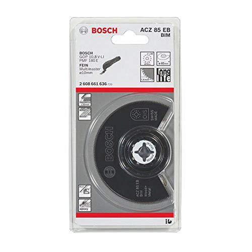 Bosch ProfessionalSegmentsägeblatt Holz und Metall für Multifunktionswerkzeuge Starlock (ACZ 85 EB)