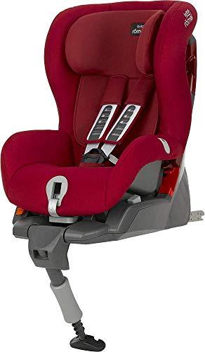 Britax Römer Kindersitz 9 Monate - 4 Jahre I 9 - 18 kg I SAFEFIX PLUS Autositz Gruppe 1 I Flame Red