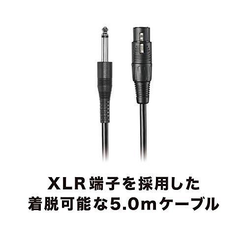 audio-technicaダイナミックマイクボーカル/楽器用XLR5.0mケーブルスタンドマイクホルダー付属ATR1300x