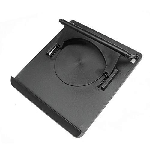 Mobestech Laptop Computer Desk Stand Adjustable Portable Foldable Laptop Riser Notebook Holder Stand 360 Degree Rotating Cooling