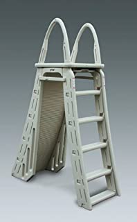 Blue Wave Roll Guard A-Frame Above Ground Pool Ladder- Warm Gray