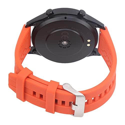 SUCIE Smartwatch, Pulsera Deportiva Inteligente portátil para Uso Profesional para Deportes de Uso General para Uso Diario(Orange)