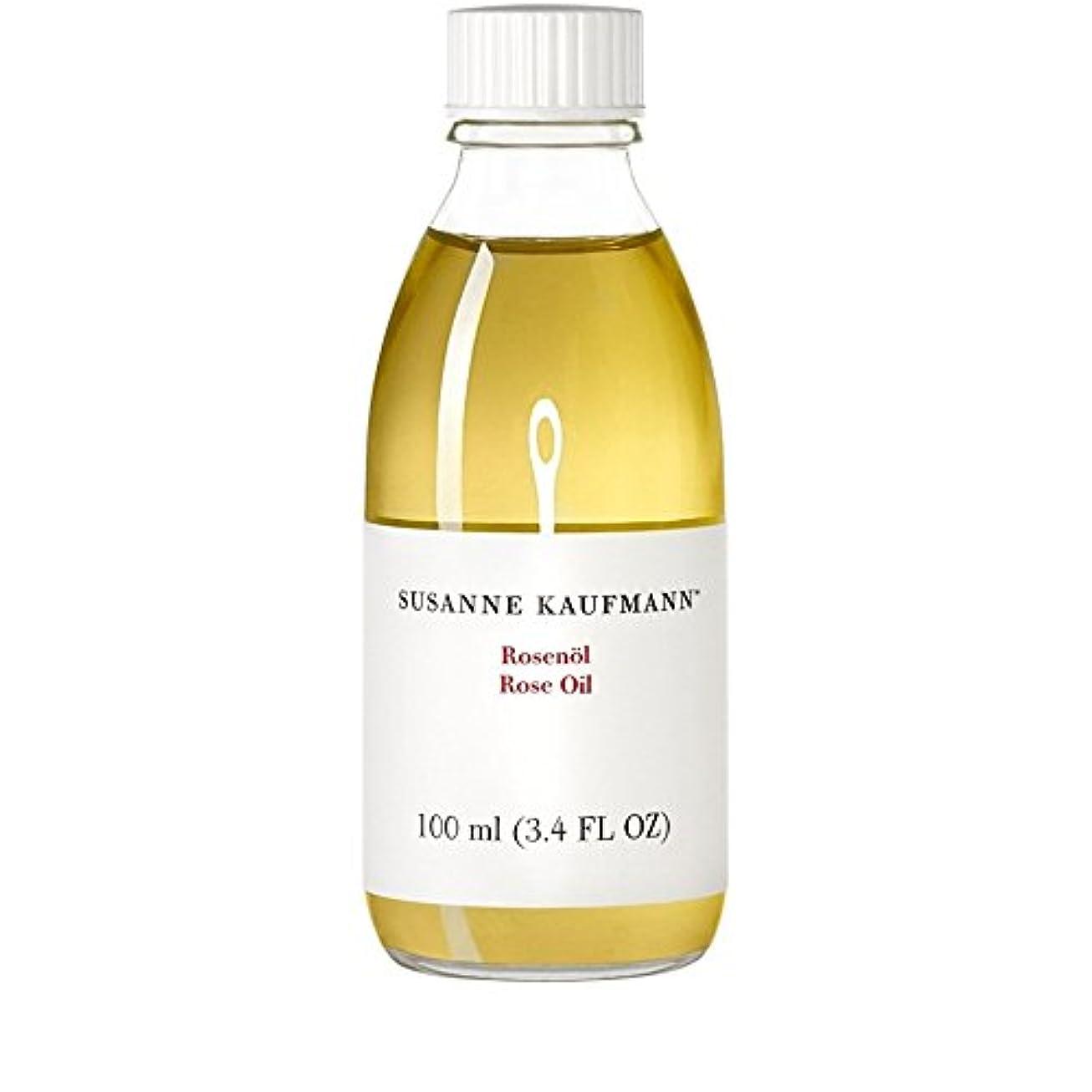 祝う引き算フライトSusanne Kaufmann Rose Oil 100ml (Pack of 6) - スサン?カウフマンオイル100ミリリットルをバラ x6 [並行輸入品]