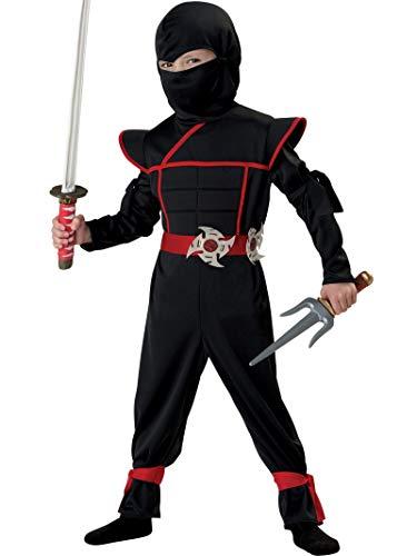 California Costumes Stealth Ninja Toddler Costume, 4-6