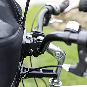 TRIXIE Panier Avant pour vélo Noir 41 x 47 x 29 cm