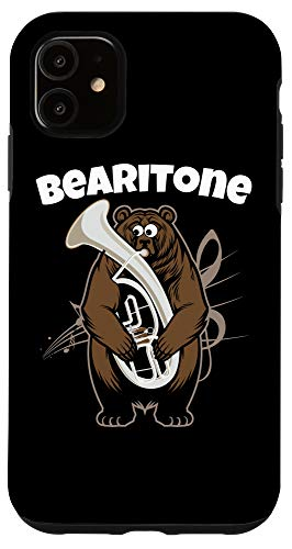 iPhone 11 Funny Euphonium Baritone Phone Case | Gifts for Baritones Case