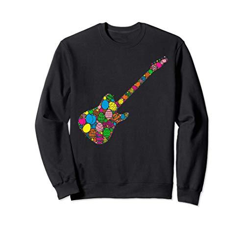 Bunte Ei Elektrische Gitarre Frauen Männer Kinder - Ostern Sweatshirt