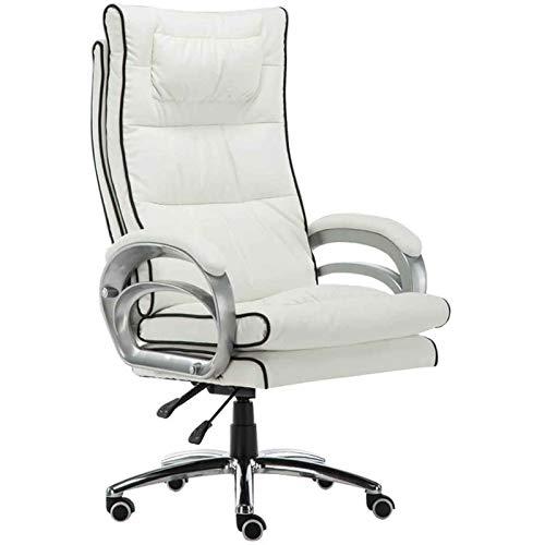 HMBB Sillas de Escritorio, Sillas y sillas taburetes de oficina for el hogar silla ergonómica, masaje lumbar de la almohadilla de ordenador fácil de tener a disposición material de inclinación Función