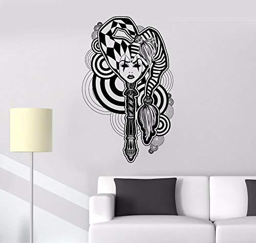Abnehmbare Wohnkultur Ying Yang Drachen Wallpaper Decor Pattern Abnehmbare Wandaufkleber Dragon Animal Wandtattoo 57x60cm