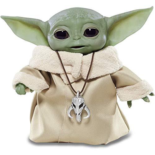 The Child Animatronic Edition 7.2InchTall Toys para niños de 4 años en adelante: Juegos de juguetes Baby Yoda Toys The Child Plush
