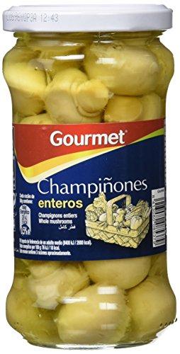 Gourmet - Champiñones Enteros - 295 g - , Pack de 6