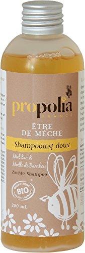 Shampooing Doux Bio - Etre de Mèche - Propolia - Miel - Moelle de Bambou - 200ml - Made in France