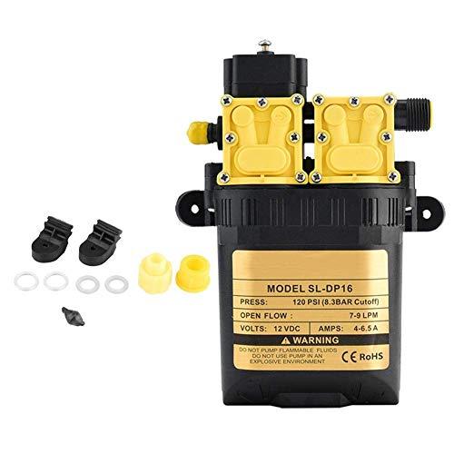 Landwirtschaftliche Wasserpumpe, 12V Landwirtschaftliche elektrische Hochdruckwasserpumpe Micro Water Sprayer Pump Wash