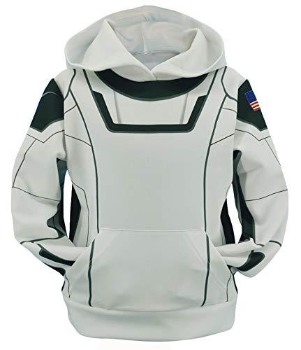 SpaceX Astronaut Hoodie Adult/Kids Halloween Pullover Sweatshirt Kids-130