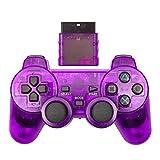 Controladores de conmutación X Pro Controlador de juego de PC inalámbrico para PS2 Gamepad Mannette para PlayStation 2 Controlle Mando Joystick inalámbrico para la consola PS2 Accesorio controladores
