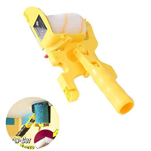 Tragbare Schnittfarbe Edger Roller Brush, sauber geschnittene Farbe Edger Roller Brush Sicheres Werkzeug, für den Home Office-Raum Dekorieren Sie den Runner Tool-Malpinsel