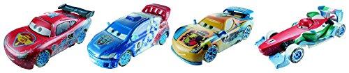 Cars - Cdr34 - Voiture De Circuit - Pack De 4 véhicules Ice Racers