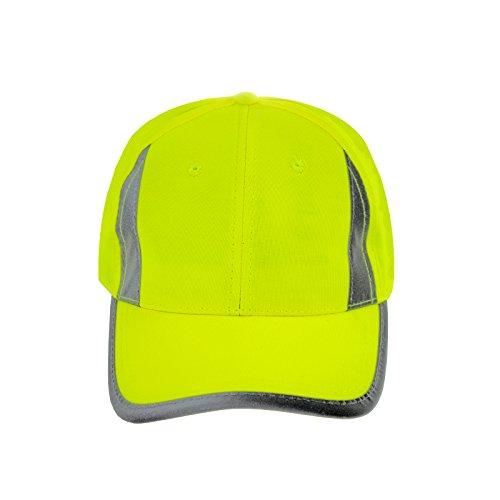 JORESTECH Safety Cap Reflective High Visibility Yellow/Lime Unisex CAP-01