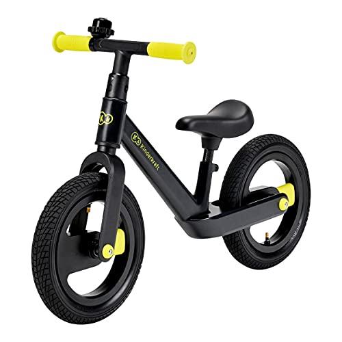 Kinderkraft Unisex, Jugend Balance Bike GOSWIFT Fahrrad, Schwarz (Schwarz), Einheitsgröße