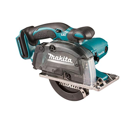 Makita DCS552RTJ 18V Li-Ion LXT 136mm Metal Saw Complete with 2 x 5.0 Ah Li-Ion Batteries and Charger Supplied in A Makpac Case