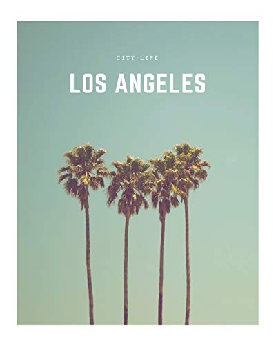 Los Angeles: A Decorative Book │ Perfect for Stacking on Coffee Tables & Bookshelves │ Customized Interior Design & Home Decor (City Life Book Series)