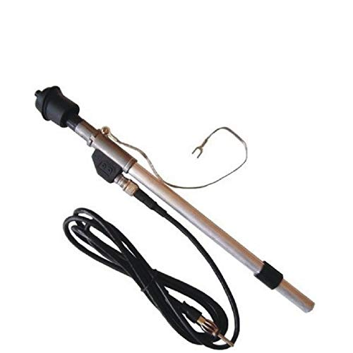 Antenne télescopique de garde-boue + connecteur DIN