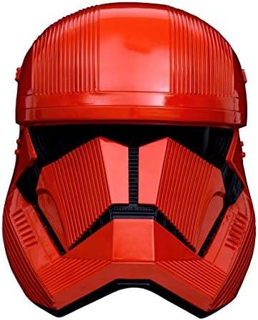 Red stormtrooper helmet