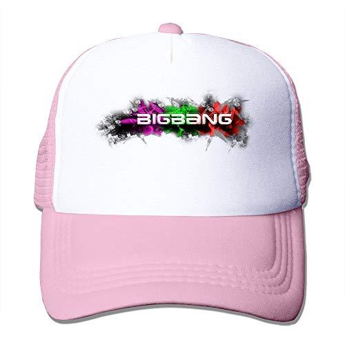 YVES Big Bang Koreaanse K-pop Jongen Band Mesh Verstelbare Caps Zonnehoed Unisex Aangepaste Snapbacks Roze