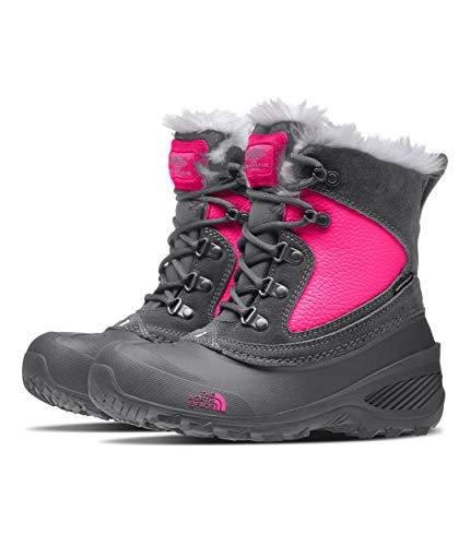 The North Face Youth Shlista Extrem, Chaussures de Randonnée Hautes Garçon Mixte Enfant, Gris (Zinc Grey/Mr. Pink H7d), 29 EU