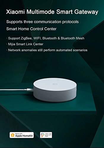 Xiaomi MIJIA Multimode Gateway Hub ZigBee 3.0 WiFi Bluetooth Mesh compatibile con HomeKit MIJIA Smart Home Remote Control Center