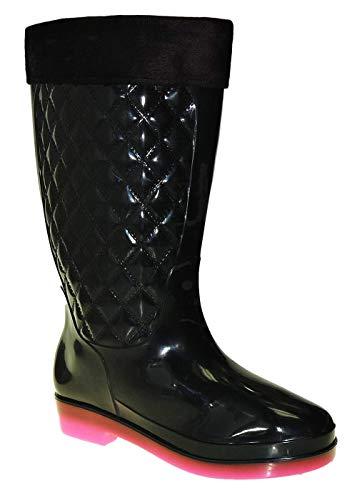 Bootsland S9 Sexy Gummistiefel Regenstiefel Damenstiefel Damen, Schuhgröße:37
