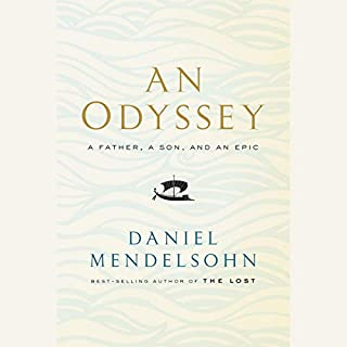 An Odyssey audiobook cover art