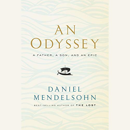 An Odyssey     A Father, a Son, and an Epic              By:                                                                                                                                 Daniel Mendelsohn                               Narrated by:                                                                                                                                 Bronson Pinchot                      Length: 10 hrs and 37 mins     246 ratings     Overall 4.7