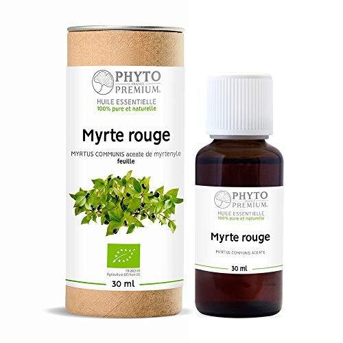PHYTOPREMIUM - HUILE ESSENTIELLE DE MYRTE COMMUN ROUGE A ACETATE DE MYRTENILE