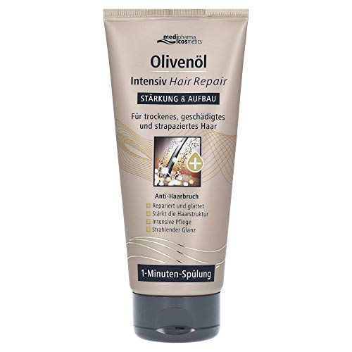 Medipharma Cosmetics Olivenöl Intensiv Hair Repair Spülung, 200 Ml