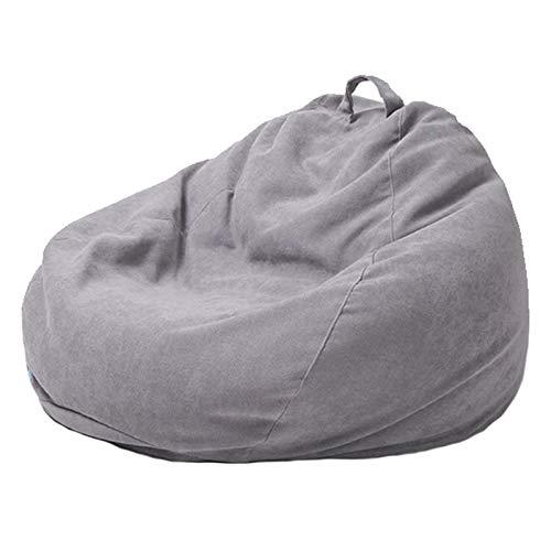 WXFN Lazy Sofa Freizeit Stoffbezug Ohne Füllung Komfortables Rückenlehnendesign Trifft Auf Ergonomie Für Erwachsene Und Kinder,M