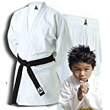 Spirit Sports Uniforme de entrenamiento de Judo, 550 grm, 100% algodón, 000/110 cm