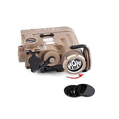 WADSN 2pcs/Set Tactical IR Infrared Filter for DBAL D2 Laser Flashlight DBA A2 IR Laser Light Black Glass Lens Visible Sight Cut-Off (DBAL A2 2pcs)